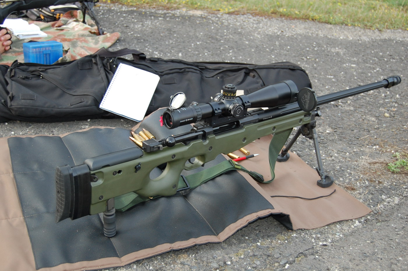 Accuracy Internatonal AWM  .338 Lapua Magnum